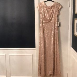 NWT Adrianna Papell Formal Sequin Dress Size 14